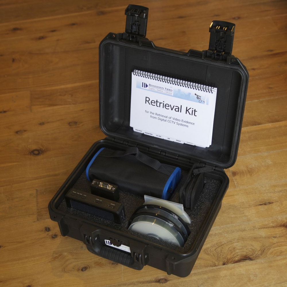 Forensic Video Retrieval Kit Resvid